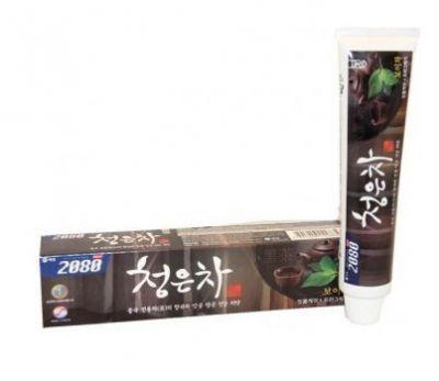 Корейская зубная паста восточный чай пуэр KeraSys 120гр
