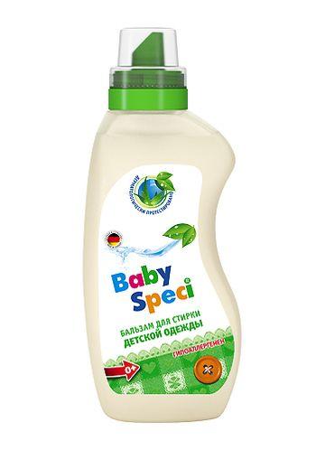 BabySpeci Бальзам для стирки детской одежды, 750 мл
