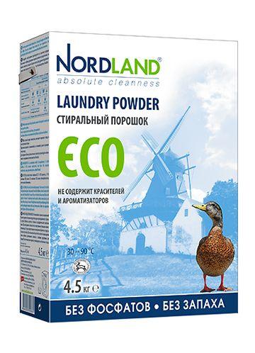 NORDLAND Стиральный порошок ECO, 4,5 кг