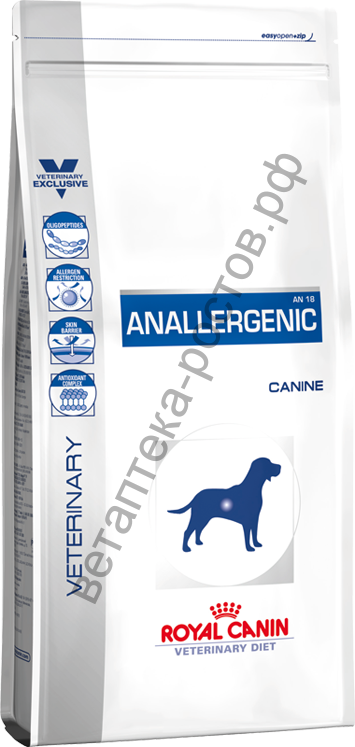 Royal Canin для собак Anallergenic (AN 18)
