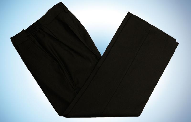 Черные нарядные брюки для мальчика