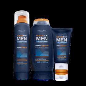 Набор «Норд – Утренняя свежесть» для мужчин (3 предмета)