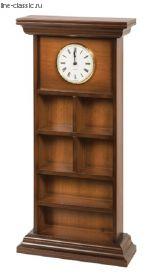 Полка И.Б. Полка настенная для коллекционеров с часами (11244 Д)