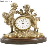 "Часы Империя Богачо ""Путти"" малые (41020 Б)"