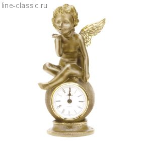 "Часы Империя Богачо ""Ангел на шаре"" (41001 Б)"