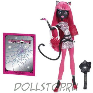 Коллекционная кукла Монстр Хай Кэтти Нуар, Новый скарместр  - Monster High Catty Noir