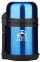 Термос Арктика универсальный 1,2 ил 0,8 литра синий