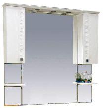 Зеркало-шкаф Misty Олимпия с 2-я шкафчиками