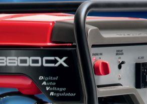 Генератор HONDA EG 5500CXS (5.5/5.0 кВA, 230 В, D-AVR, эл. запуск, бак 24 л, 87 кг)