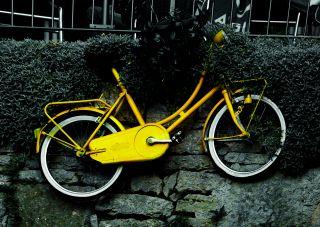 Почтовая открытка Велосипед