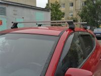 Багажник на крышy Mitsubishi ASX, Атлант, прямоугольные дуги, опора E