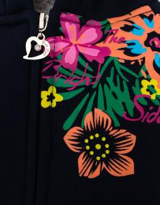 Куртка для девочки с капюшоном Бельгия