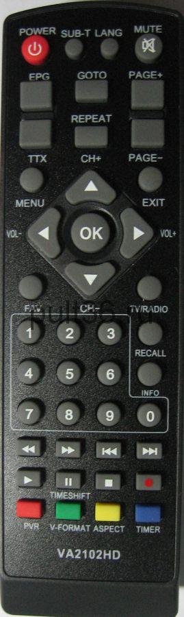 Пульт ДУ KASKAD / Master VA2102HD DVB-T2