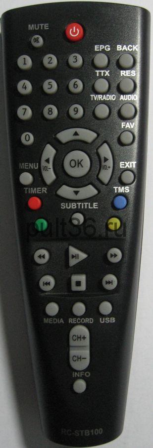 Пульт ДУ BBK RC-STB100 (RC-STB103) ic ресивер