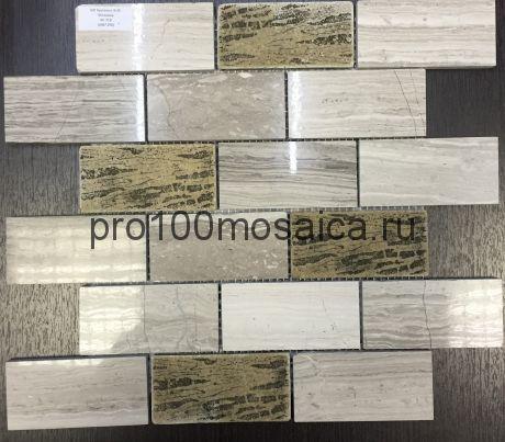 КP-719 камень. Мозаика серия STONE,  размер, мм: 298*298 (NS Mosaic)