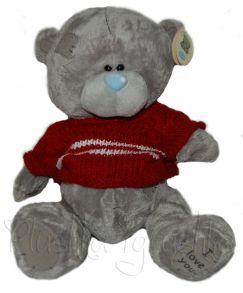 Большой Тедди (серый)