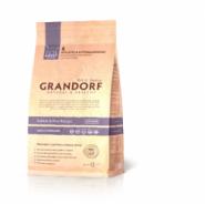 Grandorf Adult Sterilized Rabbit & Rice Low Grain - Для стерилизованных, пожилых или склонных к полноте кошек с кроликом и рисом (2 кг)