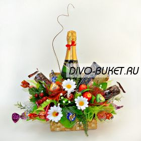 """Букет из конфет №441 """"Новоселье"""""""
