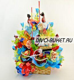 """Букет из конфет №444 """"Ветер странствий"""""""