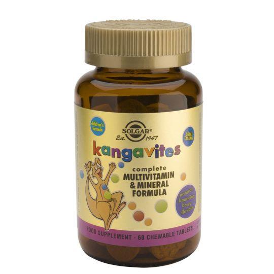 Кангавитес с Мультивитаминами и Минералами со вкусом тропических фруктов