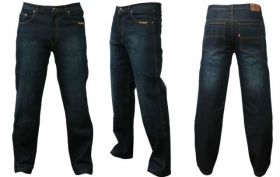 Мотоджинсы ForceRiders (UK), Классические, мужские, тёмно-синий