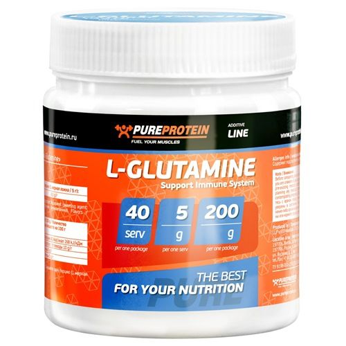 L-Glutamine (200 гр.)