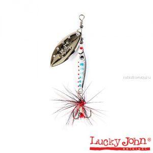 Блесна вращающаяся Lucky John TRIAN BLADE LONG  / 9гр / 003
