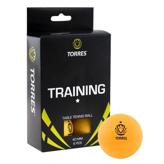 Мяч для настольного тенниса TORRES Training 1* TT0015