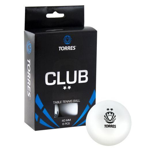 Мяч для настольного тенниса TORRES Club 2* TT0014
