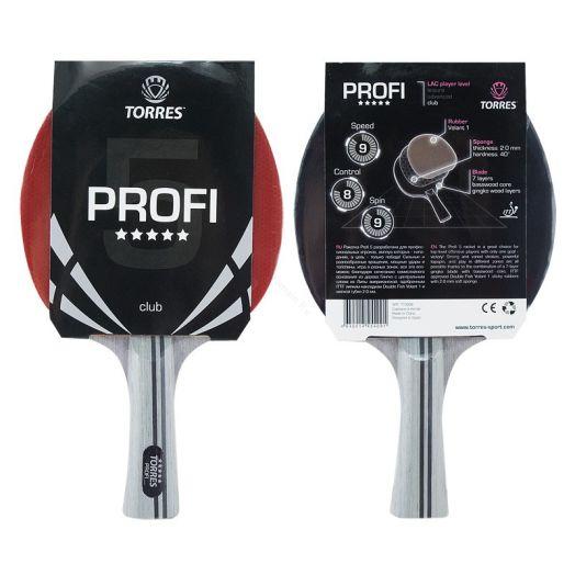 Ракетка для настольного тенниса TORRES Profi 5*