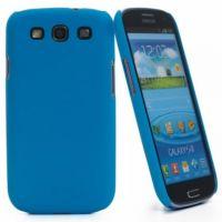 Накладка Muvit iGum Back Case для Samsung GT-I9300 Galaxy S3 - Blue