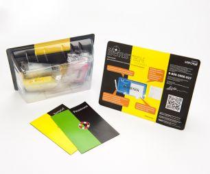 Перезаправляемые картриджи Bursten Nano для HP Deskjet Ink Advantage 3525, 4515, 4615, 4625, 5525, 6525 с картриджами HP 655 x 4 шт. С чипами.