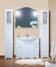 Комплект мебели для ванной комнаты Бриклаер Анна 100