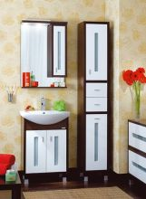 Комплект мебели для ванной комнаты Бриклаер Бали 65