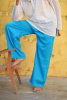 Прямые штаны для йоги из хлопка, купить в СПб. Интернет магазин