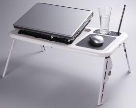 Столик для ноутбука с охладителем