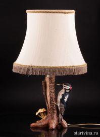 Лампа Пестрый дятел, Goebel, Германия, 1976 год