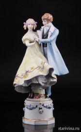 Танцующая пара, E & A Muller, Германия, 1890-27 гг