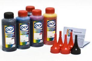 Чернила OCP для принтера и МФУ Canon iP7240, MG5440, MG5540, MG5640, MG6440, MG6640, MX924, iX6840 (BK35, BK135, C712, M135, Y135) Safe Set, комплект 100 гр. x 5