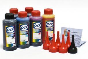 Чернила OCP для принтера и МФУ Canon MG6340, MG7140, MG7540, IP8740 (BK35, BK130, BK135, C712, M135, Y135) Safe Set, комплект 100 гр. x 6