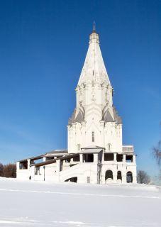 Почтовая открытка Церковь Вознесения Господня в Коломенском