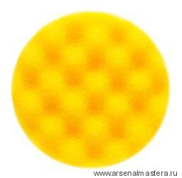 Желтый рельефный поролоновый полировальный диск Mirka 150 мм (2шт в уп)