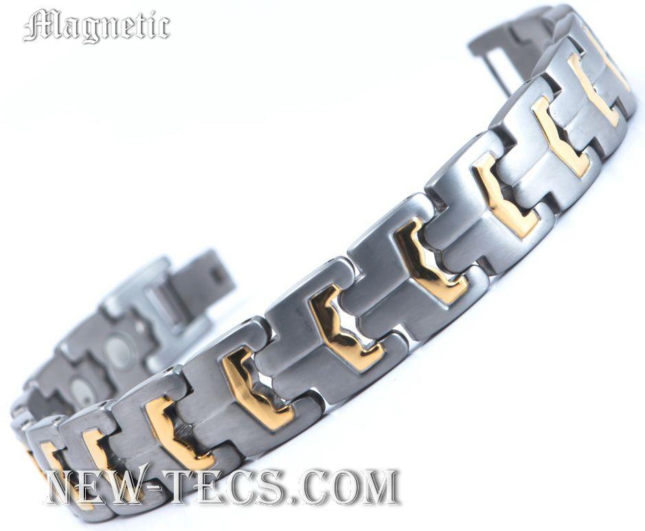 Магнитный браслет 04-ST-007steel