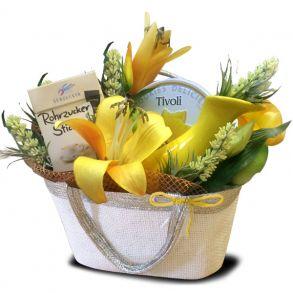 """Подарочная сумочка """"Лимон"""""""