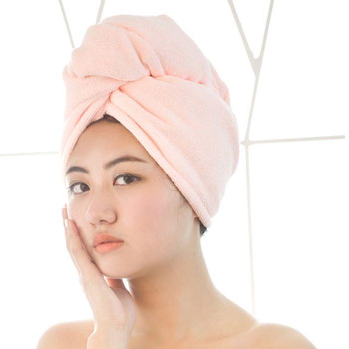 Полотенце-тюрбан для быстрой сушки волос