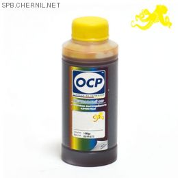 Чернила OCP 143 Y для картриджей HP #121,178, 100 gr