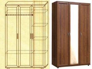 Шкаф № 105