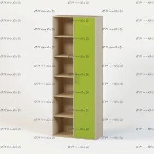 Шкаф-стеллаж Милана 1.15 (50х35х200,2)