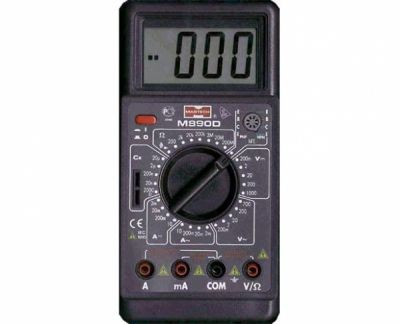 Мультиметр М890 D (V,A,F)