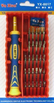 Набор отверток для ремонта электроники YX-8017B